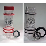 Glass Bumper Bottles