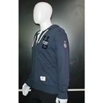 Mens Navy Roots Full Zip Hoodie