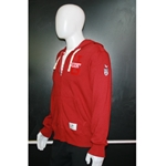 Mens Red Roots Full Zip Hoodie