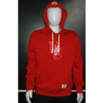 Mens Red Roots Hoodie