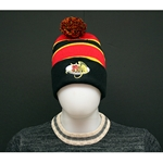 Pom Pom Gryphon Striped Toque