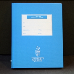 Blue UofG Lab Note Book
