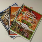 SET OF 3 FAMILY FRIENDLY RECIPES COOKBOOKS