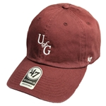 U of G 47 Clean Up Hat - White Embroidery