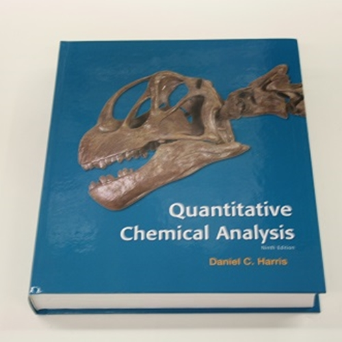 University Of Guelph Bookstore  Quantitative Chemical Analysis Textbook