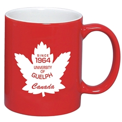 U of G Maple Leaf Mug